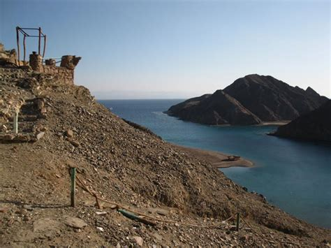 fjord bay taba fiord bay rest house highway 66 near taba sinai egypt