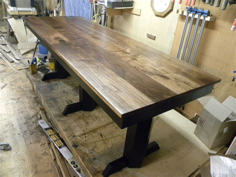 black walnut table top made black walnut table desk by design47 custommade com