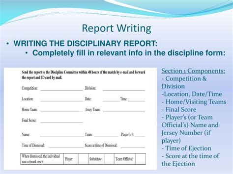 Incident Report Writing Powerpoint by Ppt Dismissal And Special Incident Report Writing 2012 Powerpoint Presentation Id 2481528