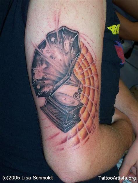 vinyl record tattoo vinyl record player tattoos vinyl