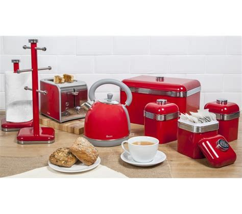 retro small kitchen appliances buy swan retro sk261020rn traditional kettle red free