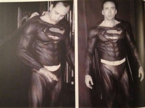 what films has nicolas cage been in could nicolas cage s failed superman movie actually have