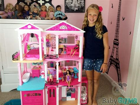 barbie doll dream house videos new barbie dreamhouse 2015 house tour and review video barbie toys pinterest