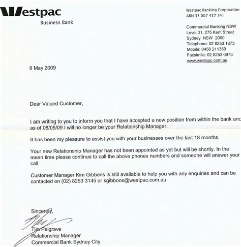 Customer Letter To Bank Customer Service Westpac Style Mumbrella
