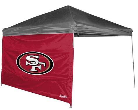 Canopy Sf San Francisco 49ers 10 X 10 Canopy Wall Shelter Wall