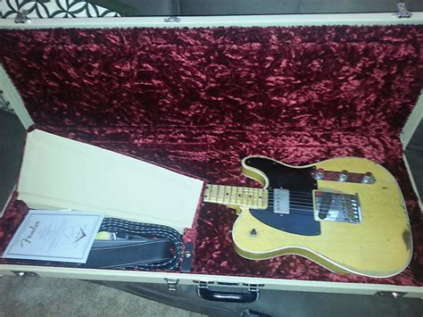 fender 62 sweetwater mod squad telecaster custom shop
