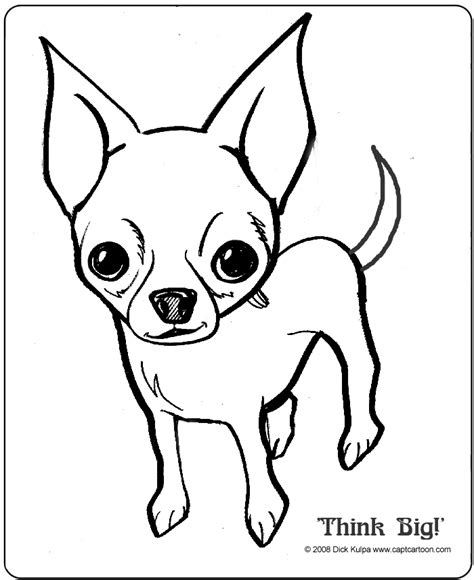 Chihuahua Colouring Pages Chihuahua Coloring Pages For Kids Az Coloring Pages by Chihuahua Colouring Pages
