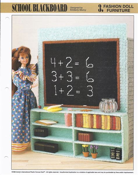 fashion doll furniture uk school blackboard fashion doll furniture plastic canvas