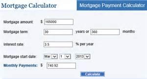 Mortgage Calculator Tx The Of Mortgage Calculators