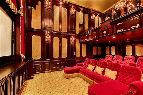 Home Theater Design New York City Nyc Mansion On Sale For 114 Million Business Insider