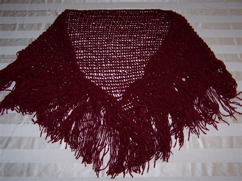 how to loom knit a shawl the loom completed triangle shawl