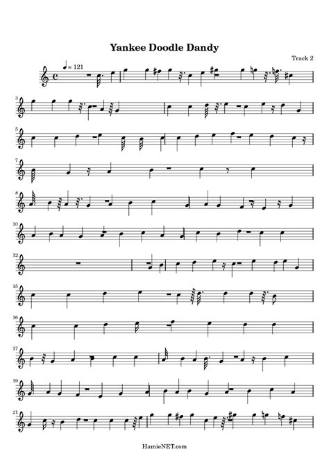 yankee doodle free sheet free piano sheet yankee doodle dandy website of