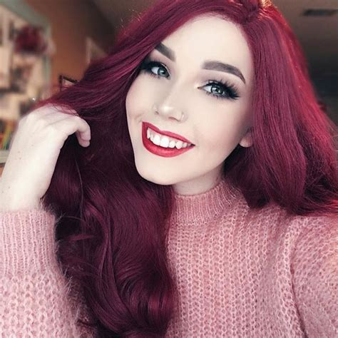 cranberry hair color 1216 best images about hair on dye my hair