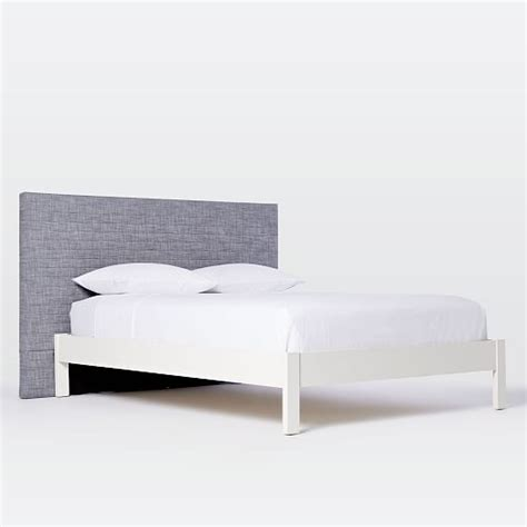 quilted headboard beds quilted headboard west elm