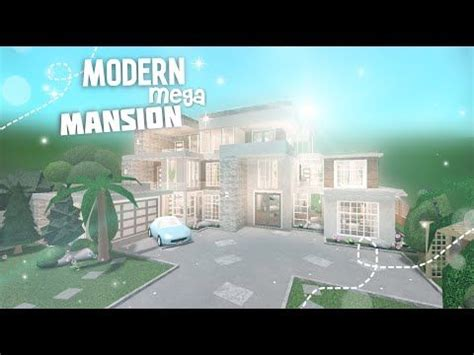 modern mega mansion bloxburg  youtube