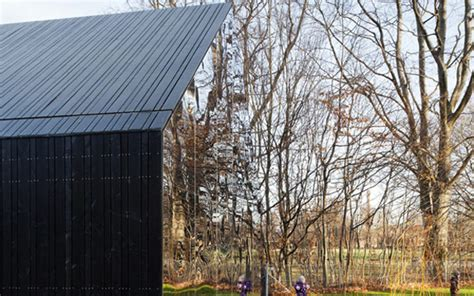 mirrored house mirror walls house gets playful in copenhagen park