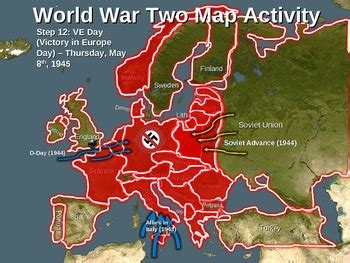 printable world war ii map world war two wwii map activity european theater fun