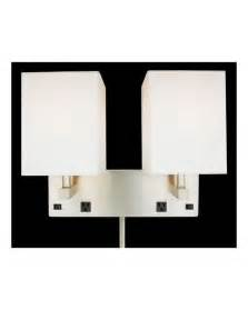 wall sconce with on switch brushed nickel in 2 light wall sconce with 2 outlets