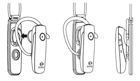 htc's latest bluetooth headset shows up at fcc slashgear