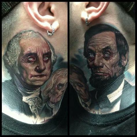 paul acker tattoo dead presidents by paul acker tattoos