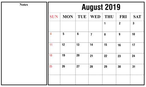 blank august calendar printable word excel