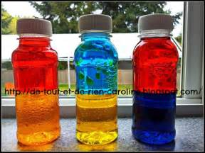 colors and bottles mixing primary colors with discovery bottles them