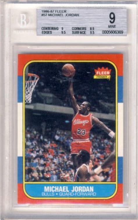 Michael Rookie Of The Year Card Mba Hoops by 1986 87 Michael Fleer Nba Basketball Rookie