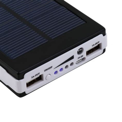 Power Bank Solar 20 000mah 20000mah solar power bank usb portable battery charger