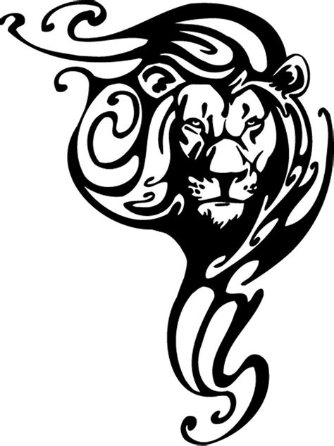 simple lion tattoo designs 16 tribal animal designs pictures and photos