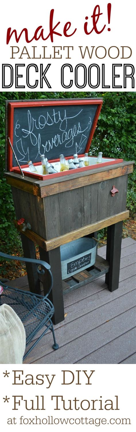 Diy Patio Cooler Stand by How To Build A Wood Cooler Stand Diy Weekend Project Idea