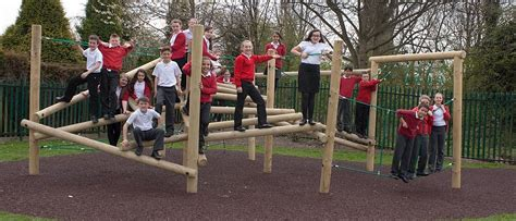 School Playground Equipment Fawns Outdoor Play & Fitness