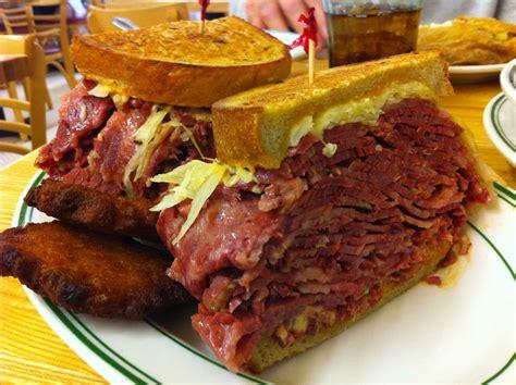 popular food famous 4th street delicatessen video erik eats