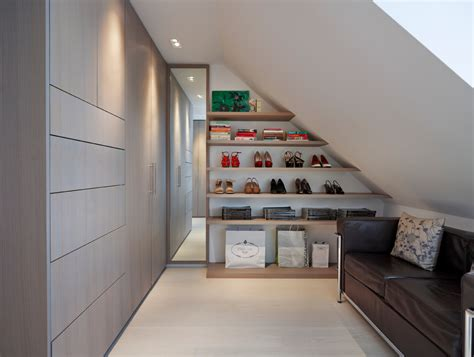 sumptuous attic storage method london contemporary closet