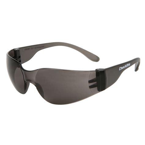 crews cl212 checklite mini safety glasses small gray