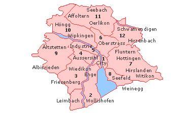 where to live in zurich? english forum switzerland