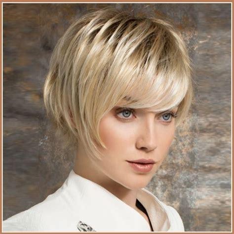 short haircut pixie cut ash blond ash blonde short straight hair with long bangs pixie style