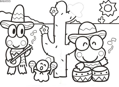keroppi coloring pages az coloring pages