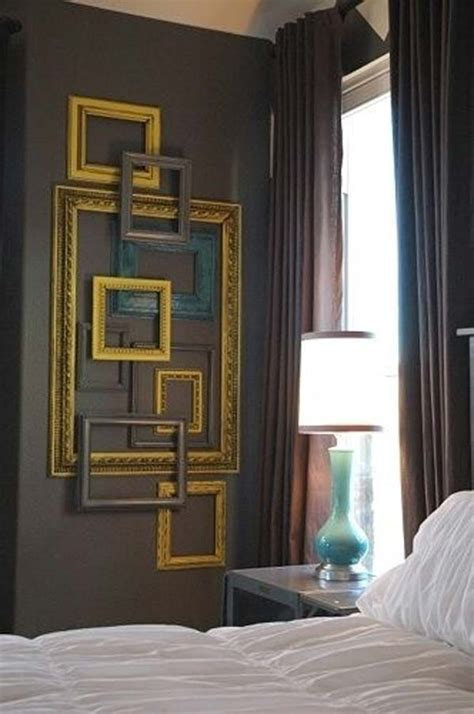 picture frame wall decor 41 diy ideas to brilliantly reuse picture frames into