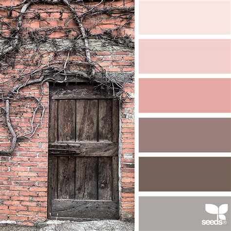 rustic color palette nature inspired color palettes aka design seeds for designers crafters and home decorators