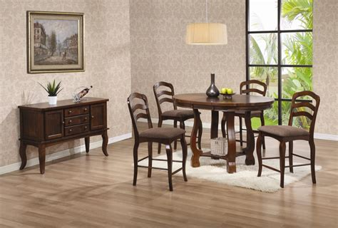 coaster 5 pc phoenix rich deep espresso wood finish 5 piece counter height dining set sophia 5 piece marble
