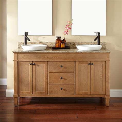 bathroom sinks and vanity 60 quot marilla double vanity for semi recessed sinks