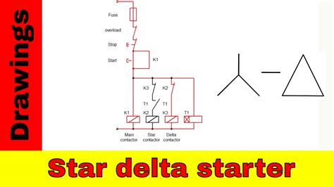 wiring diagram of delta starter with timer 28 images