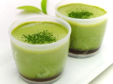 membuat puding green tea resep puding susu green tea lembut nikmat enak sajian bunda
