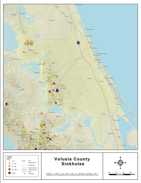 map of volusia county florida county roads in volusia county florida