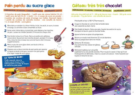 recette de cuisine pour enfant le p patissier un livre de recettes gratuit pour