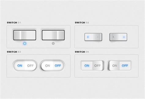 ui layout toggle free free ui toggle switches ui kit for photoshop vector