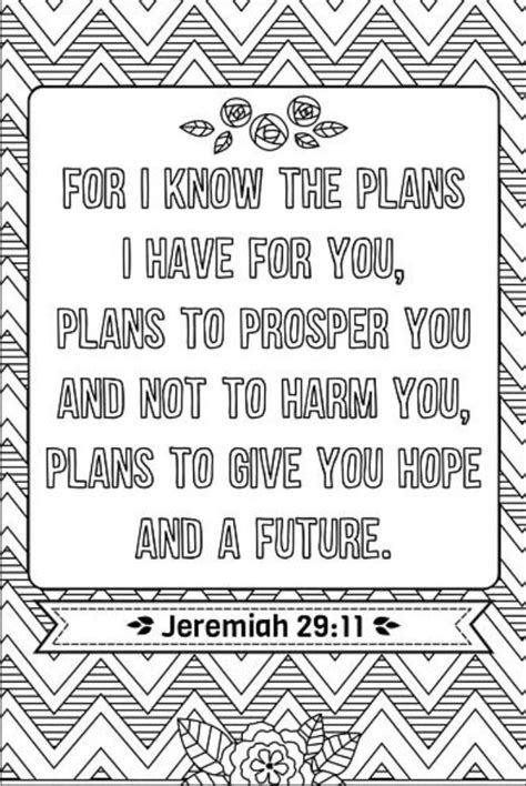 Coloring Page Jeremiah 29 11 by 190 Best Bible Coloring Pages Images On Bible