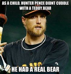 Hunter Pence Memes - amy crawford and fiance gerrit cole hunter pence signs