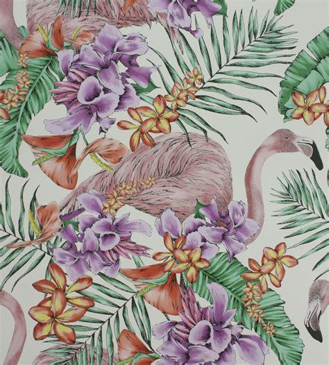 Flamingo Wallpaper Matthew Williamson | matthew williamson flamingo club wallpaper