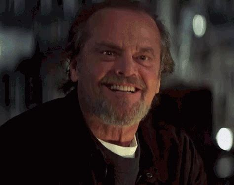 Yes Meme Gif - excited jack nicholson gif find share on giphy